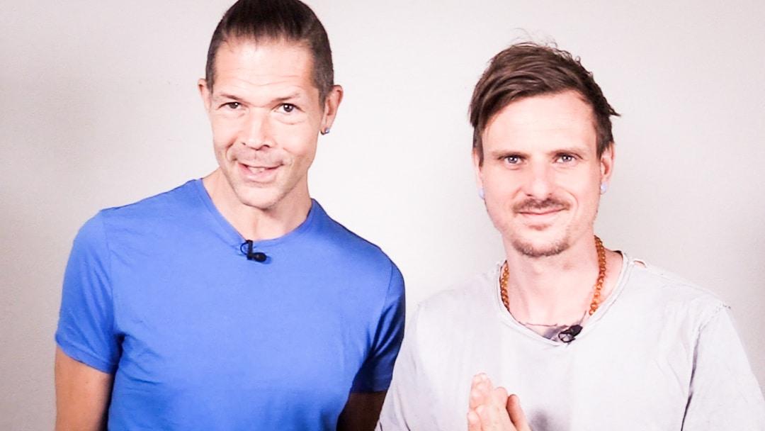 Michael und Adrian, zwei Menschen